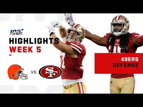 49ers Defense Shuts Down Baker! | NFL 2019 Highlights