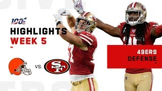 Download 49ers Defense Shuts Down Baker! | NFL 2019 Highlights Mp3 and Videos