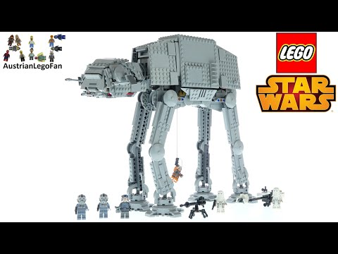 LEGO Star Wars 75288 AT-AT - Lego Speed Build Review