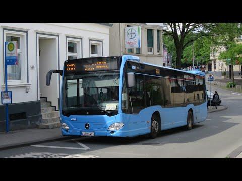 [Sound] Bus Mercedes O 530 K (C2) (Wagennr. 1451) der WSW mobil GmbH, Wuppertal