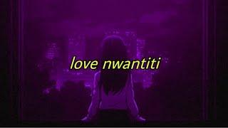 love nwantiti (tiktok remix slowed + with lyrics) screenshot 2