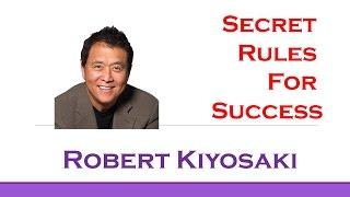 Robert Kiyosaki's Top 3 Rules