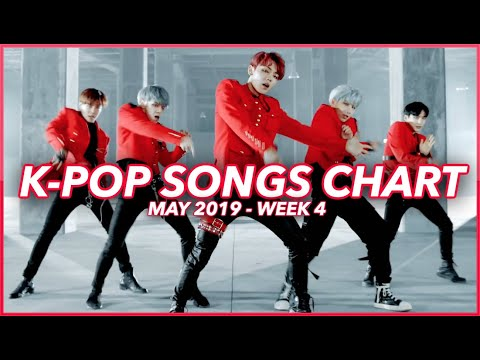 TOP 100 K-POP SONGS CHART  MAY 2019 WEEK 4