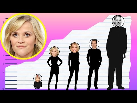 How Tall Is Reese Witherspoon? - Height Comparison!