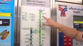 как пользоваться BTS Skytrain Метро Бангкока (инструкция)