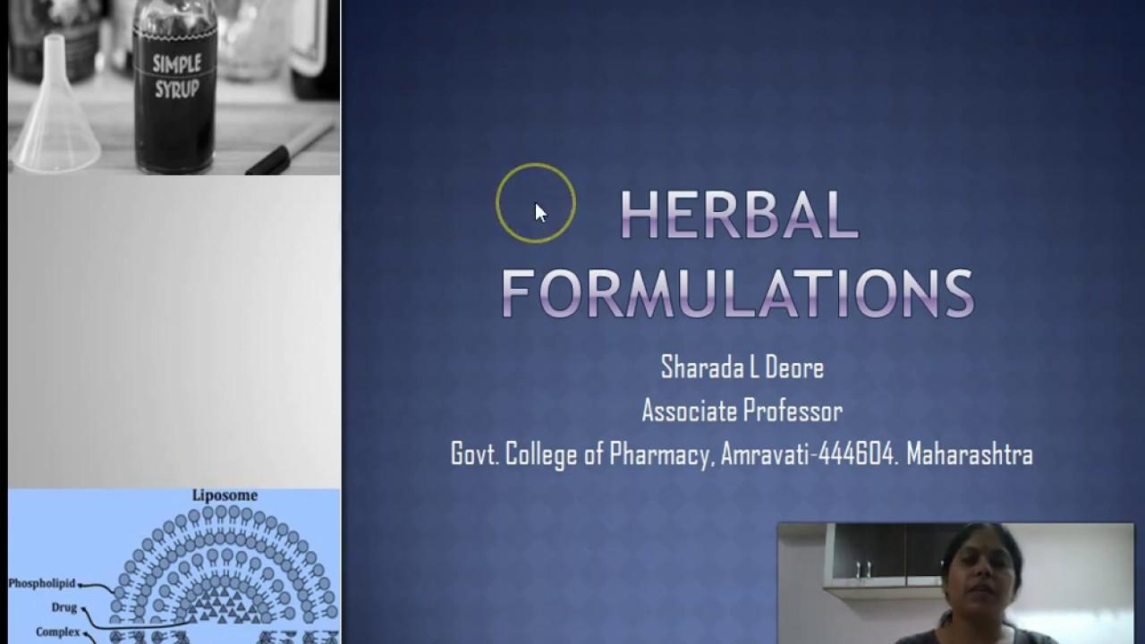 Herbal Drug Technology/ Herbal Formulations // #Herbalmedicine