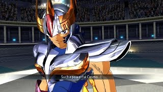 Saint Seiya Soldier's Soul: Leo Ikki Gold Cloth Moveset Gameplay [PS4] (English)