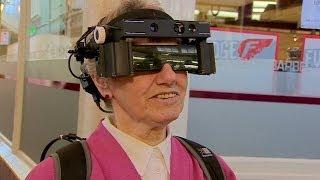 Kính gắn camera cho người khiếm thị