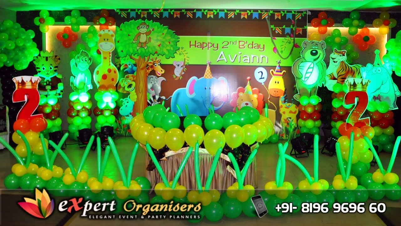 Best Jungle Theme Balloon Decorations