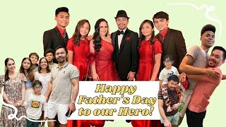 HAPPY FATHER'S DAY from the PACQUIAO KIDS!