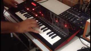 """[DEMO] Roland JD-Xi - """"Rockit"""" (Herbie Hancock) - Pattern mode with analog part solo"""