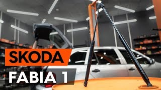 Watch the video guide on SKODA FABIA Combi (6Y5) Windscreen wipers replacement