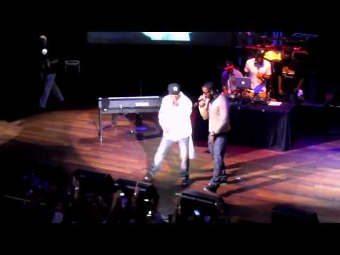 Jeremih & 50 Cent, 'Down On Me' (Live)