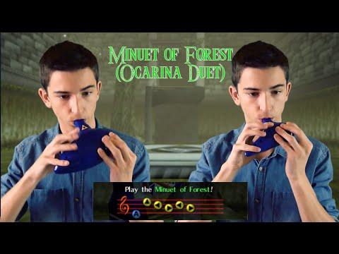 Minuet of Forest Ocarina Duet  STL Zelda Plastic Tenor & Bass Ocarinas