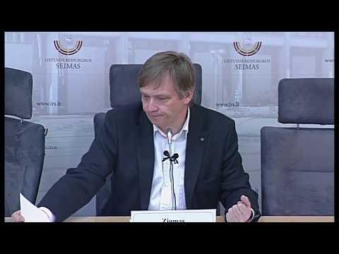 2019-04-12 Lietuvos Nepriklausomybės Akto signataro Zigmo Vaišvilos spaudos konferencija