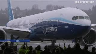 Новітній пасажирський Boeing-777Х здійснив перший політ