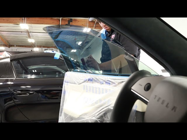 2021 Tesla Model S Tint By Ghost Shield Film in Thousand Oaks