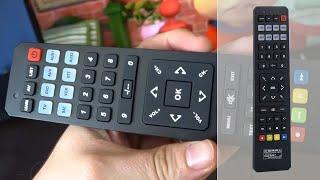 Télécommande universelle avec fonction apprentissage Auvisio - tuto comment configurer [PEARLTV.FR]