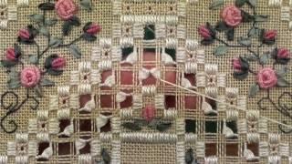 Bordado Hardanger em tecido – Um dos bordados mais belos