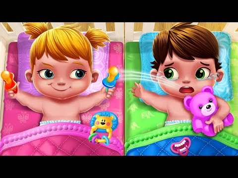 Fun Care Kids Game - Baby Twins Babysitter - Play Dress Up, Care Games For Kids