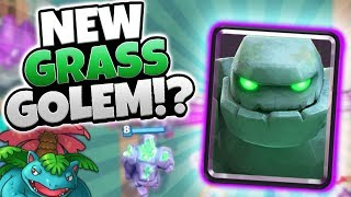 "NEW CARD ""GRASS GOLEM"" CONFIRMED MAYBE?! 
