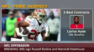 NFL Free Agency: 5 Best and Worst Contracts So Far