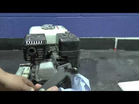 GX160 Governor & Carburetor Speed Adjustments