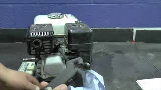 GX160 Governor & Carburetor Speed Adjustments