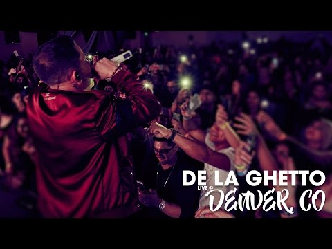 De La Ghetto Live in Denver