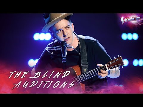 Blind Audition: AP D'Antonio sings Mr Tambourine Man | The Voice Australia 2018