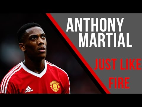 Anthony Martial – Just Like Fire – Skills, Goals, Assists 2015-16