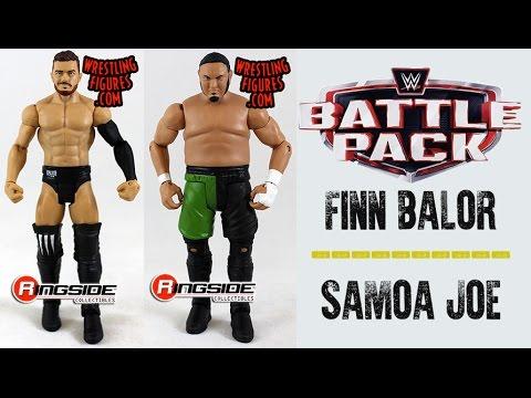 Wwe Figure Insider Finn Balor Samoa Joe Wwe Battle Pack Series