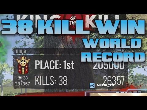 38 Kill Solo Win! (H1Z1 World Record!)