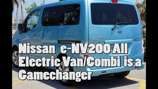 Nissan e-NV200 - full test of this superb electric workhorse [Review]