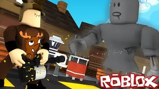 BATTLE THE STRONGEST ZOMBIES IN THE WORLD! (Roblox Zombie Rush)