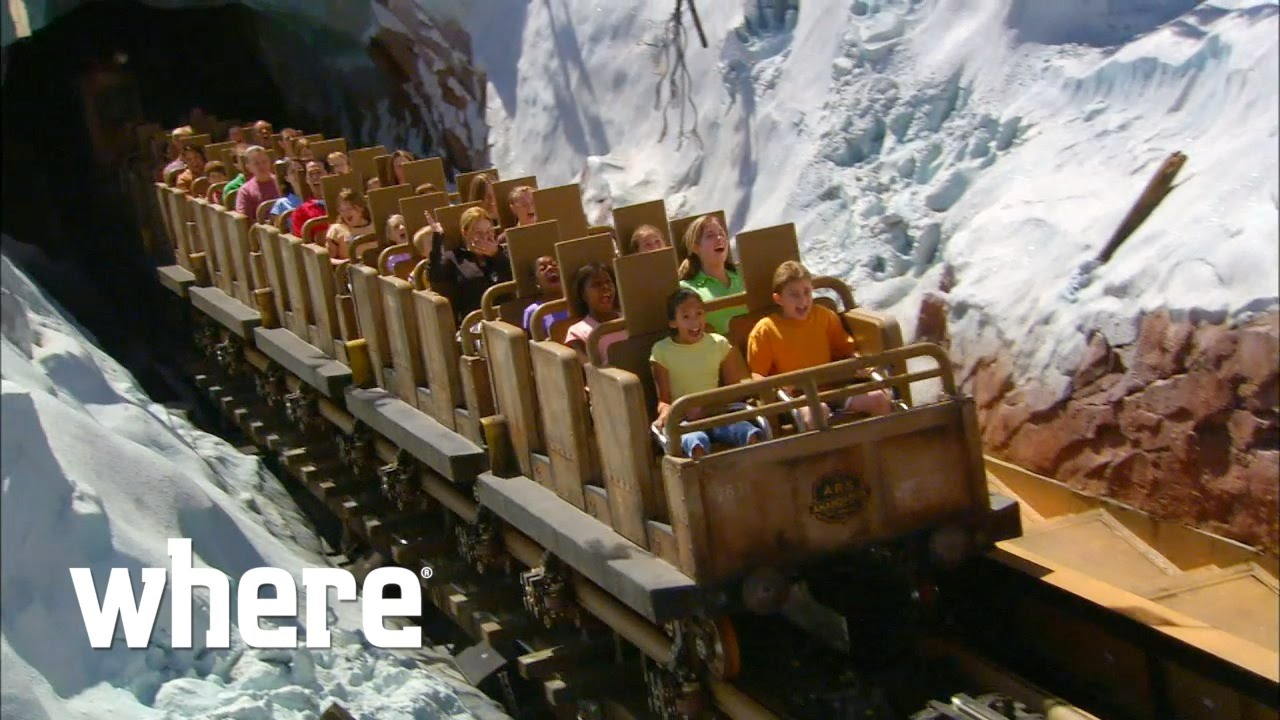 The Top 5 Rides At Walt Disney World Youtube