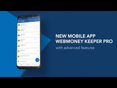 WebMoney Keeper Pro Mobile Application For Android