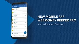 WebMoney Keeper Pro mobile application for Android screenshot 3
