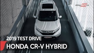 2019 HONDA CR-V HYBRID 184CP 4x4 Aut CVT car review | eblogAUTO