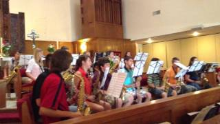 2013 Summer Sax Choir Bohemian Rhapsody