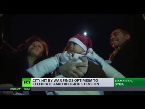 Christmas in Damascus: Christians, Muslims join to celebrate