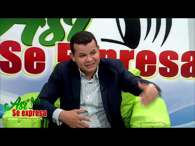 Entrevista: Así Se Expresa Anderson Montero. Parte I