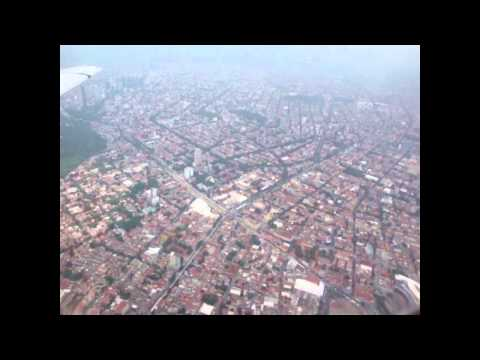 Failed landing in Mèxico City`s International Airport
