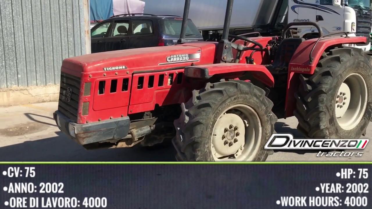 Antonio Carraro 8008 Rs Trattori Usati Used Tractors