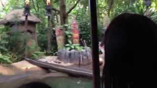 Jungle River Cruise Ride. HongKong DisneyLand HD