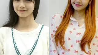 OMG 😱😱Blackpink Lisa twins Nana komatsu Japanese Actress