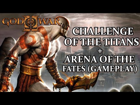 God of War 2 HD - Detonado - PS3 - CHALLENGE OF THE TITANS + ARENA OF THE FATES (GAMEPLAY)