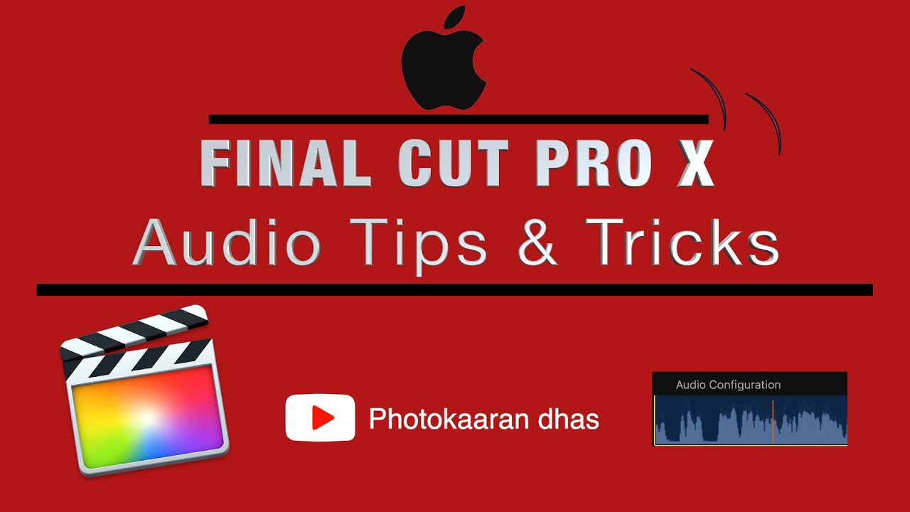 Download Tamil Tutorial || Audio Tips & Tricks in Final Cut Pro X ||