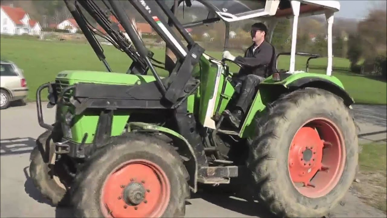 deutz traktor 6806 mit allrad youtube. Black Bedroom Furniture Sets. Home Design Ideas