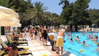 Letoonia Theme song  by the pool Fethiye Fetiyeh Turkey